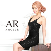 【予約】[ラメシアーデザインバンデージドレス]AngelR(エンジェルアール)|AR9904【3月下旬〜4月上旬頃より発送】