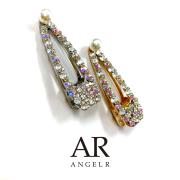 [ラグジュアリーラインストーン&パールヘアピン]AngelR(エンジェルアール)|HA003YX