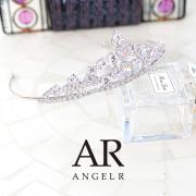 [ストーン&ビジューウェディングティアラ]AngelR(エンジェルアール) TH036