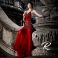 [シアービーズバッククロスタイトロングドレス]Angel R PREMIUM(エンジェルアールプレミアム)|AP80602