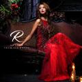 [シアーレースノースリーブタイトロングドレス]Angel R PREMIUM(エンジェルアールプレミアム)|AP80603