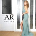 [バストビジュースリットタイトロングドレス]AngelR(エンジェルアール)|AR20214