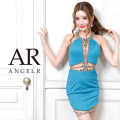[シアー&ビジューデザインタイトミニドレス]AngelR(エンジェルアール)|AR20220
