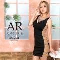 sugar(シュガー)コラボドレス[サイドシアービジュー&パールタイトミニドレス]AngelR(エンジェルアール)|AR20222