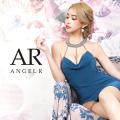 [デコルテラインビジューデザインタイトミニドレス]AngelR(エンジェルアール)|AR20223