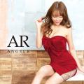 [フロントリボンモチーフベアトップタイトミニドレス]AngelR(エンジェルアール)|AR20231