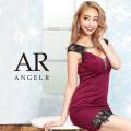 [レースカッティングビジュータイトミニドレス]AngelR(エンジェルアール)|AR20233