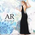 【予約/3月中旬から下旬発送】[バッグビジューデザインロングドレス]AngelR(エンジェルアール)|AR20235
