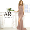 [カッティングデザインビジュータイトロングドレス]AngelR(エンジェルアール)|AR20307
