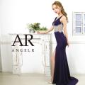 [ウエストビジューデザインタイトロングドレス]AngelR(エンジェルアール)|AR20309