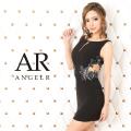 [ウエストデザインシアービジュータイトミニドレス]AngelR(エンジェルアール)|AR20318