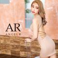 [ラインビジューデザインタイトミニドレス]AngelR(エンジェルアール)|AR20330