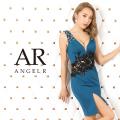 [ウエストフラワーレースタイトミニドレス]AngelR(エンジェルアール)|AR20811