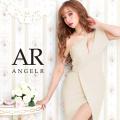 [デザインシルエットワンショルダータイトミニドレス]AngelR(エンジェルアール)|AR20829