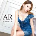 [アシンメトリーフラワーモチーフタイトミニドレス]AngelR(エンジェルアール)|AR20833