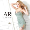 [バストビジューレースタイトミニドレス]AngelR(エンジェルアール) AR21203