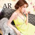 [バストメッシュビジューデザインタイトミニドレス]AngelR(エンジェルアール)|AR21206