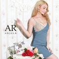 [アシンメトリービジューデザインタイトミニドレス]AngelR(エンジェルアール)|AR21218