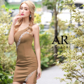 【予約/11月上旬から11月中旬より発送】[カットビジューワンショルダータイトミニドレス]AngelR(エンジェルアール)|AR21237