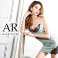 [バストレースクロスデザインタイトミニドレス]AngelR(エンジェルアール) AR21301
