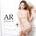 [バストカットビジューワンショルダータイトミニドレス]AngelR(エンジェルアール)|AR21302