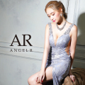 [レース刺繍デザインビジュータイトロングドレス]AngelR(エンジェルアール) AR21308