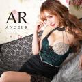 [レース&ビジューアシンメトリータイトミニドレス]AngelR(エンジェルアール) AR21312