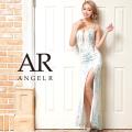 【予約/5月中旬から下旬より発送】[フラワーデザインバックビジュータイトロングドレス]AngelR(エンジェルアール)|AR21320