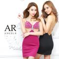 [クロスビジューデザインタイトミニドレス]AngelR(エンジェルアール)|AR21322