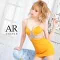 【予約/10月中旬から10月下旬より発送】[ウエストバックラインビジュータイトミニドレス]AngelR(エンジェルアール)|AR21340