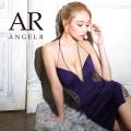 [ラインビジューアメリカンスリーブタイトミニドレス]AngelR(エンジェルアール)|AR21802
