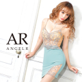 予約[(ホワイト)(ベージュ)(グリーン)/XSサイズ][(ホワイト)(ベージュ)(グリーン)/Sサイズ][(モカ)(グリーン)/Mサイズ]【4月下旬から5月上旬発送】[フロントビジューメッシュタイトミニドレス]AngelR(エンジェルアール) AR21804