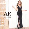 [バスト&サイドアシンメトリーレースロングドレス]AngelR(エンジェルアール)|AR21809