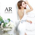 [バックビジューサテンリボンタイトミニドレス]AngelR(エンジェルアール)|AR21819