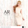 [ウエストリボンモチーフワンピースドレス]Angel R(エンジェルアール)AR8219