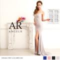 [ストレッチスリットマーメイドロングドレス]Angel R(エンジェルアール)|AR8222