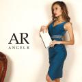 [ウエストシアーギャザースカートタイトミニドレス]Angel R(エンジェルアール)|AR8244