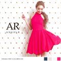 [レース柄アメスリフレアデザインスカートドレス]Angel R(エンジェルアール) AR8328