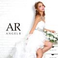 [ハートカットギャザーデザイン前ミニドレス]Angel R(エンジェルアール)|AR8336