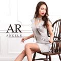 [チョーカー付きレイヤードデザインタイトミニドレス]Angel R(エンジェルアール)|AR8402