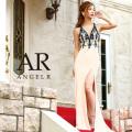 [深Vカットビジュータイトロングドレス]Angel R(エンジェルアール)|AR8403