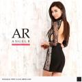 [レーススリーブ背中開きバンデージドレス]Angel R(エンジェルアール)|AR8909