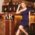 [リボンモチーフワンショルダータイトミニドレス]Angel R(エンジェルアール)|AR9201