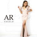 [Vカットフレアスリーブタイトロングドレス]AngelR(エンジェルアール)|AR9214