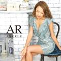 [デザインレースフリルスリーブタイトミニドレス]AngelR(エンジェルアール)|AR9229