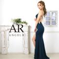 [サイドシアーバックビジュータイトロングドレス]AngelR(エンジェルアール)|AR9235