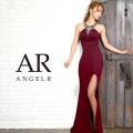 [デコルテVデザインビジュータイトロングドレス]AngelR(エンジェルアール)|AR9240