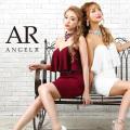 [チョーカー付き2ピース風デザインタイトミニドレス]Angel R(エンジェルアール)|AR9304