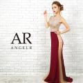[トップス&スカートサイドシアービジュータイトロングドレス]Angel R(エンジェルアール)|AR9308