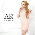 【予約】[シースルーレースフレンチスリーブタイトミニドレス]AngelR(エンジェルアール)|AR9321【5月下旬〜6月上旬頃より発送】